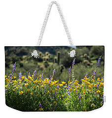 Weekender Tote Bag featuring the photograph Gently Swaying In The Wind  by Saija Lehtonen