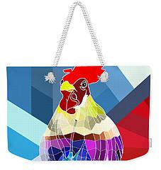 Geo Doodle Doo Weekender Tote Bag