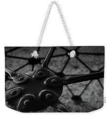 Weekender Tote Bag featuring the photograph Geodome Climber 2 by Richard Rizzo