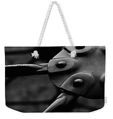 Weekender Tote Bag featuring the photograph Geodome Climber by Richard Rizzo