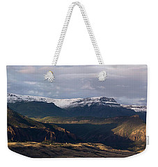 Geology In The Spotlight At Green Creek Weekender Tote Bag