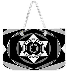 'geometric 1' Weekender Tote Bag by Linda Velasquez