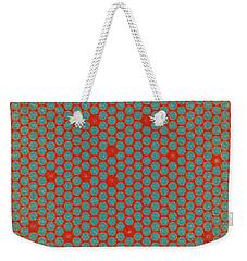 Weekender Tote Bag featuring the digital art Geometric 2 by Bonnie Bruno