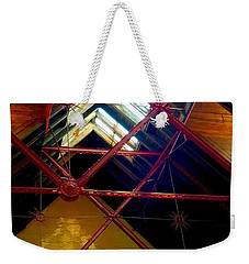 Geometric And Suns  Weekender Tote Bag