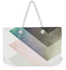 Geometric Layers Weekender Tote Bag
