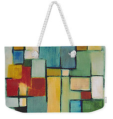 Geometric Line Series Re Master Weekender Tote Bag