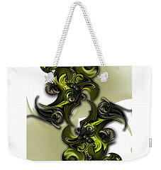 Geometric Pole Weekender Tote Bag