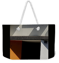 Geometric Shadows Weekender Tote Bag