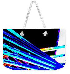 Geometric Waves Weekender Tote Bag
