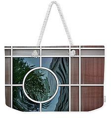 Geometric Window Abstract Weekender Tote Bag