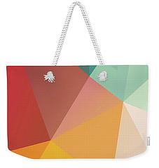 Geometric Xxix Weekender Tote Bag