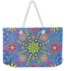 Geometry Of An Arkana Weekender Tote Bag
