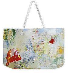 Geometry Of Desire Circles Weekender Tote Bag