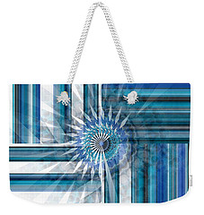 Geometry  Weekender Tote Bag by Thibault Toussaint