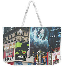 George M Weekender Tote Bag by David Jaffa