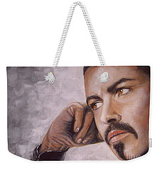 George Michael Weekender Tote Bag by Patrice Torrillo