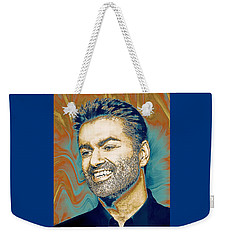 George Michael - Tribute  Weekender Tote Bag
