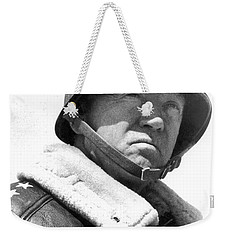 George S. Patton Unknown Date Weekender Tote Bag by David Lee Guss
