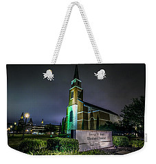 Weekender Tote Bag featuring the photograph George W Truett Seminary At Baylor University by David Morefield