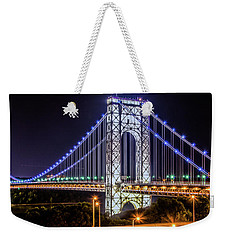 George Washington Bridge - Memorial Day 2013 Weekender Tote Bag