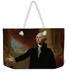 George Washington Lansdowne Portrait Weekender Tote Bag by War Is Hell Store