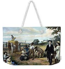 George Washington The Farmer Weekender Tote Bag