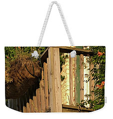 Georgetown Balcony South Carolina Weekender Tote Bag by Bob Pardue