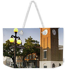 Georgetown Clock South Carolina Weekender Tote Bag by Bob Pardue