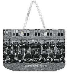 Georgetown U Football Squad Weekender Tote Bag by Panoramic Images