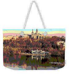 Georgetown University Crew Team Weekender Tote Bag by Charles Shoup
