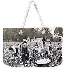 Georgia Cotton Field - C 1898 Weekender Tote Bag