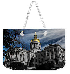 Georgia State Capital Weekender Tote Bag