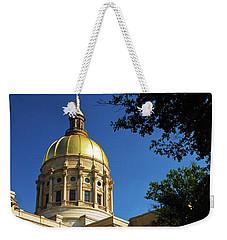 Georgia State Capitol Weekender Tote Bag by James Kirkikis