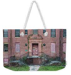 Weekender Tote Bag featuring the photograph Georgia State Hospital by Kim Hojnacki