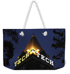 Georgia Tech Georgia Institute Of Technology Georgia Art Weekender Tote Bag