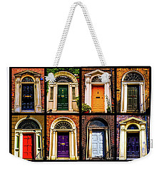 Georgian Doors Of Dublin 3 Weekender Tote Bag