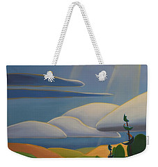 Georgian Shores - Left Panel Weekender Tote Bag