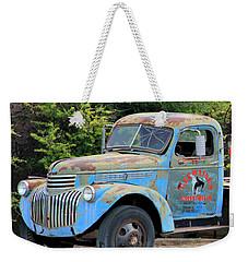 Geraine's Blue Truck Weekender Tote Bag