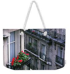 Geraniums - Paris Weekender Tote Bag