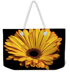 Weekender Tote Bag featuring the photograph Gerber Daisy by James Sage