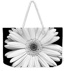 Single Gerbera Daisy Weekender Tote Bag by Marilyn Hunt
