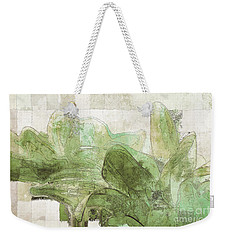Weekender Tote Bag featuring the digital art Gerberie - 30gr by Variance Collections