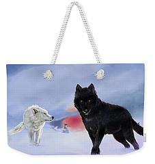 Geri And Freki Weekender Tote Bag