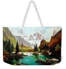 German Alps Weekender Tote Bag