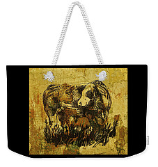 German Fleckvieh Bull 21 Weekender Tote Bag