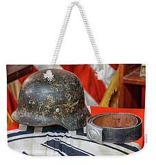 German Helmet Weekender Tote Bag