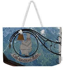 Germany - Cafe Sign Weekender Tote Bag
