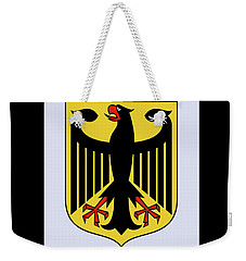 Weekender Tote Bag featuring the drawing Germany Coat Of Arms by Movie Poster Prints