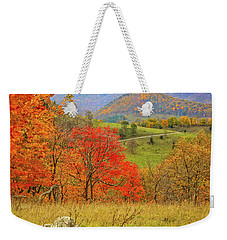Germany Valley Dressed In Autumn Weekender Tote Bag