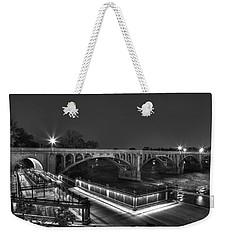 Gervais Street B-w Weekender Tote Bag